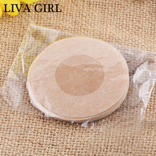 Popular Women Chest Paste Round  Heart Plum blossoBreasts Stickers Invisible Breast  Bra Pads Nipple Cover Chest Paste F0027