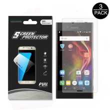 3Pack Full coverage Soft imported TPU Film For  Sony Xperia XZ / X Compact Edge to Edge Covered Full Screen Protector film