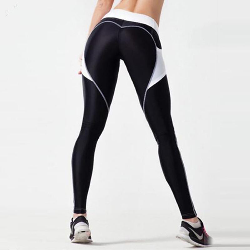 Ayopanda-Heart-Booty-Push-Up-Yoga-Pants-Love-Contrast-Fitness-Sports-Leggings-Black-Blue-Workout-Tights