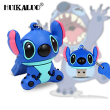 Lovely Stitch USB Flash Drive Pen drive Gift Animal cartoon pendrive 4GB/8GB/16GB/32GB/64GB memory stick usb flash(China)