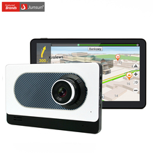 Junsun 7  Android Car Truck GPS Navigation with DVR Camera Recorder Bluetooth FM WIFI Sat nav Navigator Navitel Map