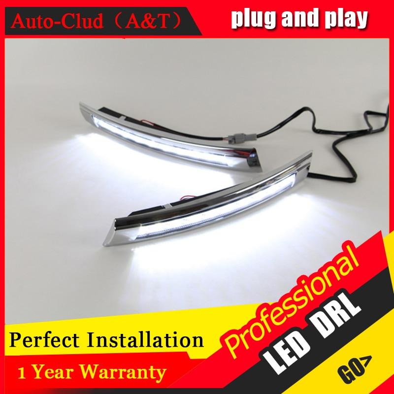 Auto Clud car styling For VW Santana LED DRL For Santana led fog lamps daytime running light High brightness guide LED DRL<br><br>Aliexpress