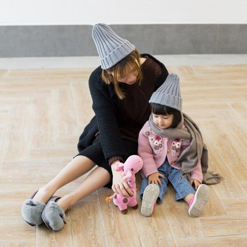 Knitted Kids Beanie Cap Infant Newborn Baby Boy Girl Hat Warm Childrenx Baby Autumn Winter Girls Hat For Kids Toddler Bonnet Cap 2