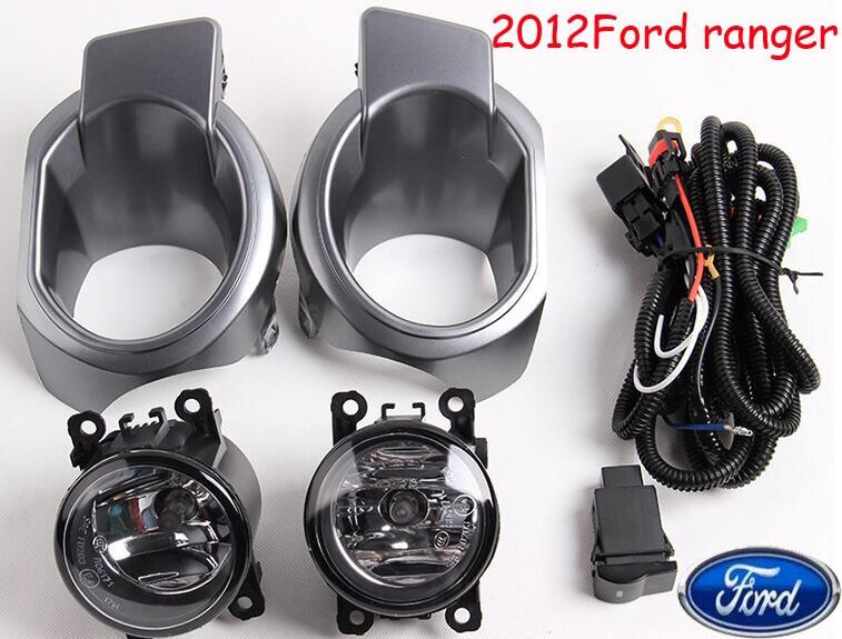 Ranger fog light,2012~2014,2pcs/set+wire of harness,Ranger halogen light,Free ship! Ranger headlight, Ecosport,Kuga<br>