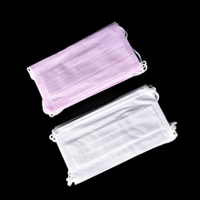 10Pcs New Dental Disposable Medical Anti Flu Dust Mouth Surgical Face Mask Respirator Nonwoven Random Colors(China)