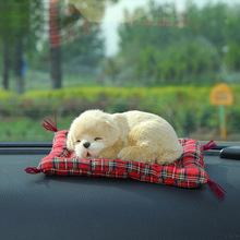 Brand New Creative Air Freshener Cute Car Air Purifiers Simulation Dog & Cat Solid Charcoal Bag For Car/Household Deodorant