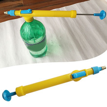Portable Plastic Juice Bottles Interface Water Pressure Sprayer Head Garden