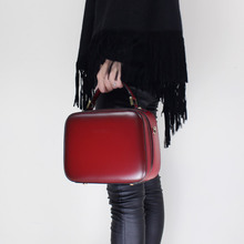 Women Bags 2017 Fashion Cowhide Genuine Leather Square Bags Exquisite Buality Shoulder Cross-body Handbag