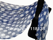 Fashion Hedgehog Print Animal Scarf Shawl Wrap Spring Winter Accessory, Free Shipping