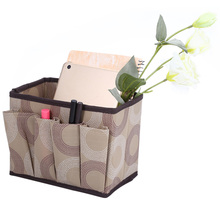 Multifunctional Non-woven Fabric Foldable Storage Box Rectangle Container for Storing Cosmetics Keys Combs Hairpins Socks