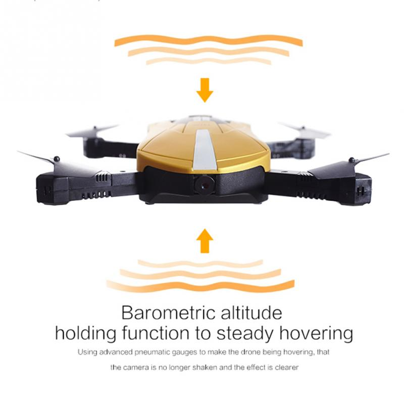 2017 Hot GW018 4-aixs 2.4G Rc plane Flight Mini RC Quadcopter Drone Fold Helicopter RTF for Children Toy Gifts With Camera