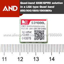 GSM/GPRS quad-band module,SIM800L,LGA package,smallest GPRS module SIM800L(China)