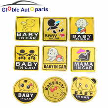 Car Stickers Baby in Car Acessories 11*11 CM Warning Styling Baby Care Protection Sticker Universal