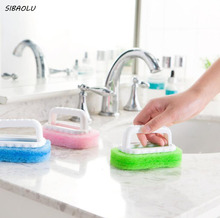 1 Pcs/set Portable Cleaning Magic Kitchen Sponge Brush Bathroom Window Cleaning Smoke Machine Cleaner Dust Remover Kitchen Tools