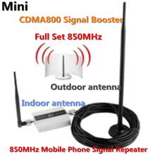 3G 800MHz 850 mhz GSM CDMA 800mhz Mobile Phone Cell Phone signal Booster Repeater gain 55dbi LCD display with Antenna a set