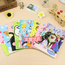 4 pcs Small yellow notebook person Large White KT Cat cartoon easily bear this nail color page notebook / notepad / diary book(China)
