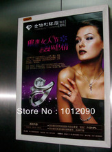Elevator advertising box/ad box/Snap frame/wallmounted advertising post frames/Size:50X70CM(China)