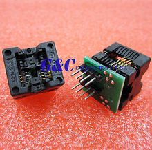 SOIC8 SOP8 to DIP8 EZ Programmer Adapter Socket Converter Module 150mil Output Power Adapter With 150mil Connector