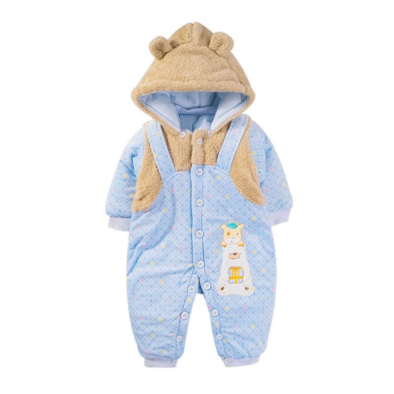Winter Overall Outerwear Rompers Cotoon Coverall Coat Giubbotti Bambina Inverail Jumpsuit Children Winter Baby Clothes 60Z051Одежда и ак�е��уары<br><br><br>Aliexpress