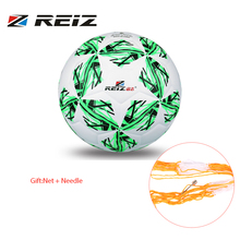REIZ Synthetic Leather Football Official Size 4 Soccer Ball Five-pointed Star Decorative Pattern Outdoor Match Training Ball New