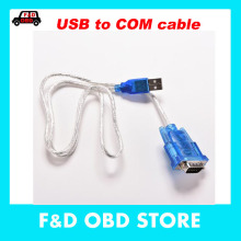 2017 Sale Ce New Usb 2.0 To Rs232 Com Port Serial Pda 9 Pin Cable Male Adapter For Pc Support Mb Star C3 Laptop Connection