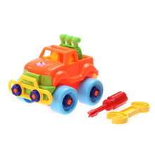 Baby Car Toy Disassembly Assembly Classic Cars Truck Toys Kids Children Early Educational Toys Gifts Diecasts & Toy Vehicles(China)