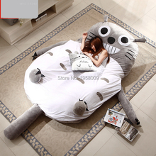 Anime My Neighbor Totoro style Giant Stuffed Soft Plush Bed Sofa Mattress Tatami, Nice Gift, Free Shipping