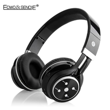 EDWO 203A Portable Wireless Bluetooth Headphone With Mic Bass Stereo Music Headset FM Radio Noise Cancelling For iPhone Samsung