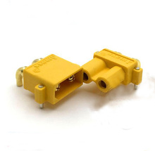 Buy AMASS XT30PW Banana golden XT30 Upgrade Right Angle Plug Connector male female ESC Motor PCB board plug connector RC model for $5.21 in AliExpress store