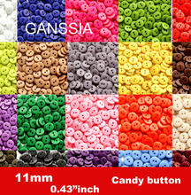 100pcs/lot 11mm 100pcs/lot 20colors sewing button Bulk buttons Sewing accessories Resin Buttons wholesale(SS-671)