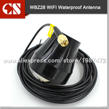 Free shipping 2.4GHz SMA Waterproof Outdoor Antenna wifi wireless antenna,IP67(China)