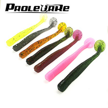 10 Pcs/lot Fishing Lure 3g 8.5cm Silicone bait iscas artificiais Soft baits carp fishing Lure soft para pesca Tackle YR-402(China)