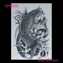 new 3D arm hot flashes temporary tatoo Colorful waterproof body art tattoo sticker tattoos nontoxic arm tatto