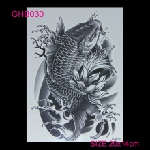 new 3D arm hot flashes temporary tatoo Colorful waterproof body art tattoo sticker tattoos nontoxic arm tatto(China)