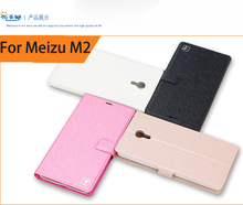 Wholesale 10pcs For Meizu M2 mini 5.0'' Case Flip Leather Cell Phone Hard Cover For Meizu Meilan2 Book Style Stand Case Cover