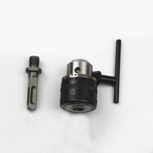 3-16mm Drill Chuck + Square Shank Connecting Rod Electric Hammer Convert To Electric Drill Powel Tool Accessories