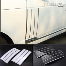 TTCR-II ABS Side Air Vents Kit Mesh Vent Grille Grill Fender Trims Suitable FOR Land Rover Range Rover Vogue 2013-2016 stickers(China)