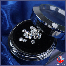 H near white color V S clarity synthetic diamonds beads 2.2mm round shape moissanites stone for jewelry making