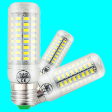 Bulb LED Corn light E27 24/36/48/56/69/72leds 220V 3W 5W 7W 12W 15W 18W 20W 25W 5730SMD Indoor lamp led lights led bombilla(China)