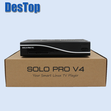3pcs SOLO PRO V4 Digital Satellite Receiver DVB-S2 HD Linux Enigma2 BCM7362(China)