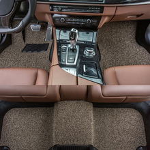 Custom fit car floor mats for Mitsubishi Lancer ASX Pajero sport V73 V93 3D car styling all weather carpet floor liner