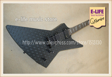 Latest Arrival ESP Wolfman Explorer Electric Guitar Diamond Top Matte Black China Music Instrument In Stock For Sale
