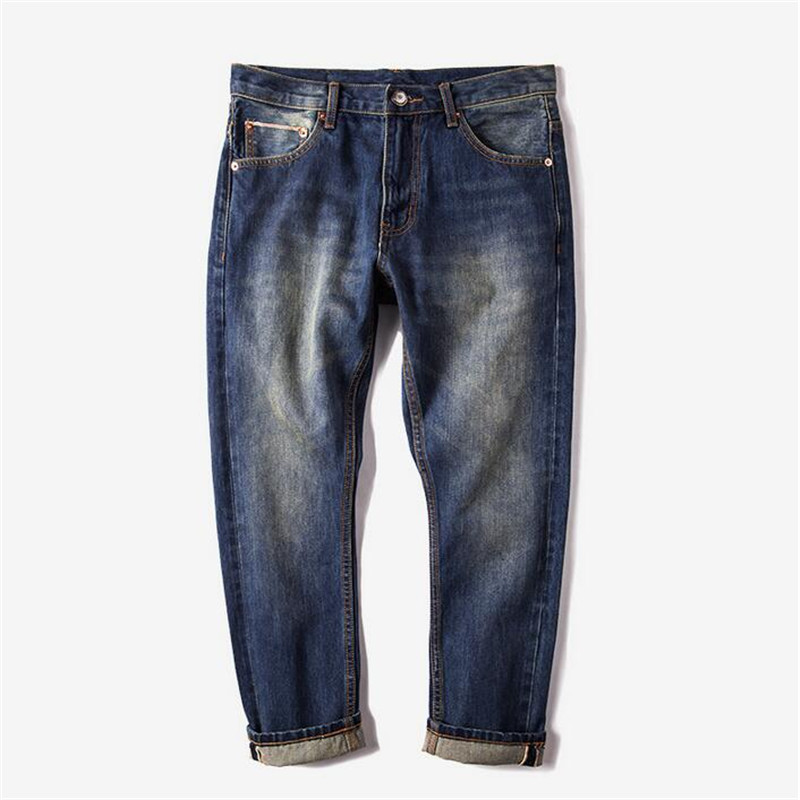 2017 summer spring fashion men jeans ankle-length pencil pants crimping  jeans men hip hop biker jeans Îäåæäà è àêñåññóàðû<br><br>