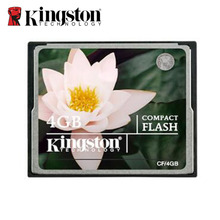 Original Kingston compactflash card 4GB CF Card Compact Flash Card 133X High-speed SLR Camera Memory Cards