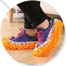 Dust Mop Slipper House Cleaner Lazy Floor Dusting Cleaning Foot Shoe Cover Mops Slipper Rain Shoe Cover Home Living Accessories