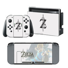 The Legend of Zelda Vinyl Decal for Nintendo Switch Console Sticker Skin