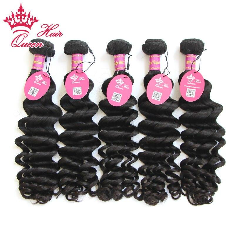Queen Hair 8A Grade Hair Brazilian More Wave Virgin Hair 5 Pcs Lot 12-26  Brazilian Loose Curl Virgin Hair Weave No Tangle<br><br>Aliexpress