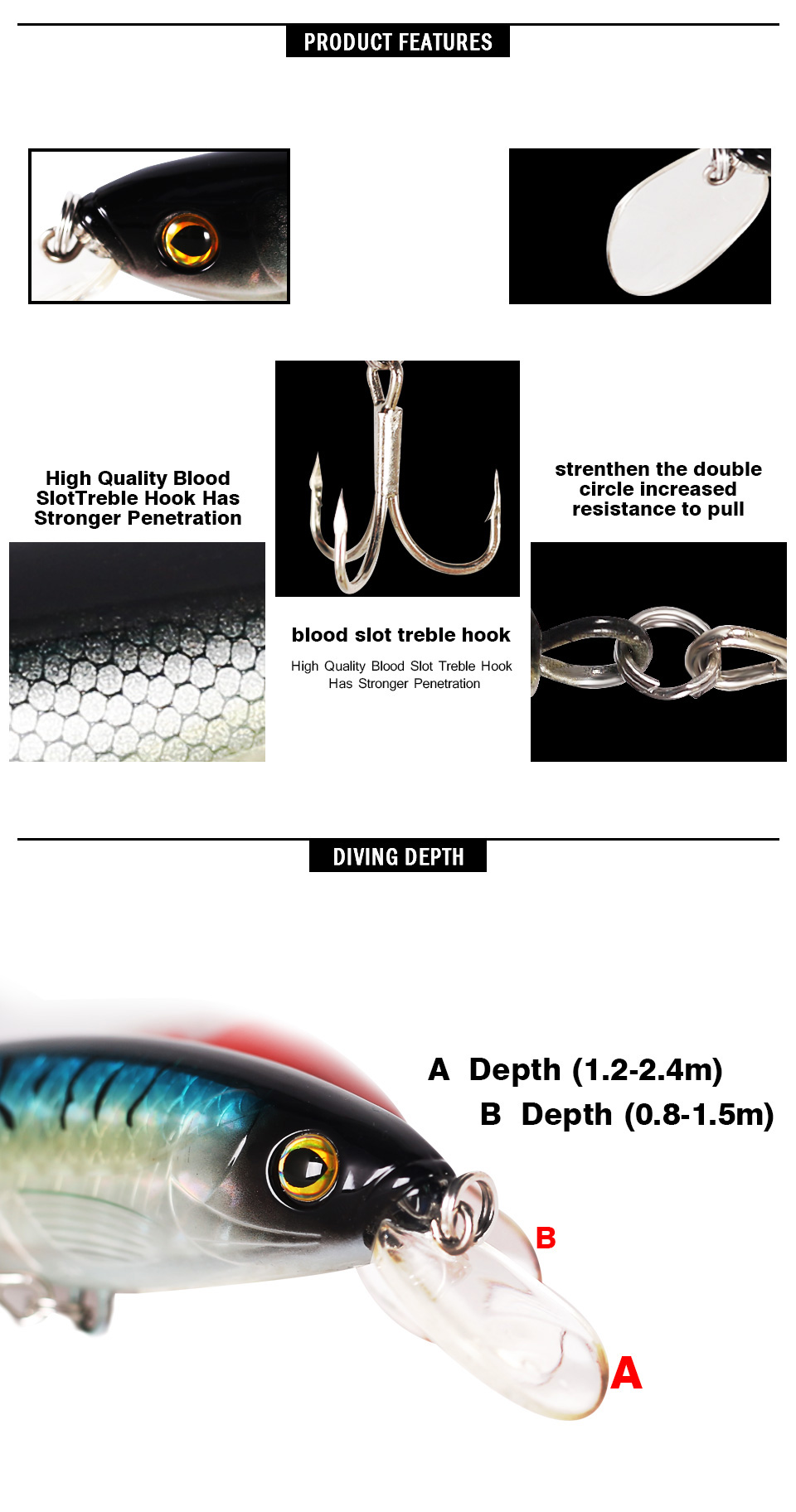 Kingdom Sea Fishing Lures Minnow 14cm 40g Quality Professional Hard stick baits fishing tackle artificial lure model 5382 (3)