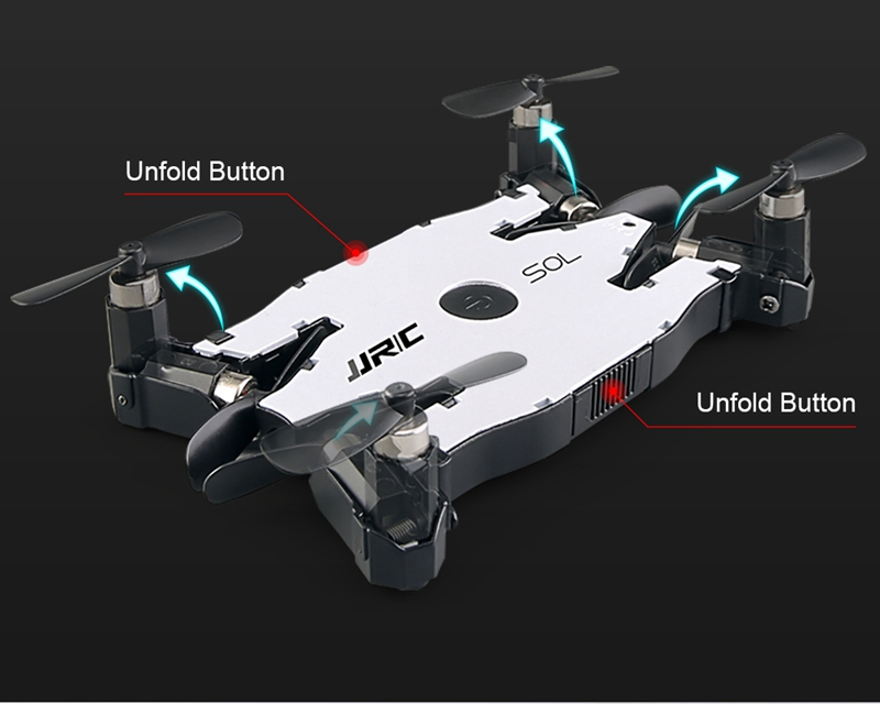 Free Mini Drone with Discounted H49 SOL Ultra-thin Wifi FPV Selfie Drone 7P Camera Auto Foldable Arm Altitude Hold RC Quadcopter 12