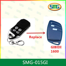 2piece free shipping Rolling code garage gate remote control replacement for GIBIDI handtransmitter 433mhz(China)